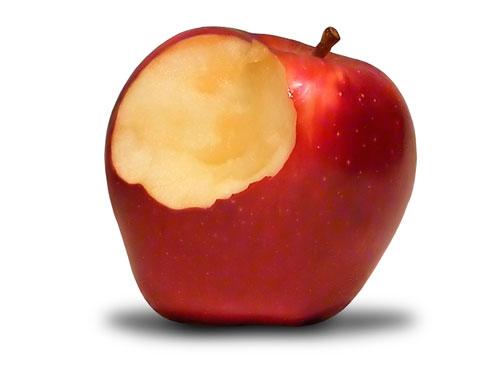 Comer uma maçã exercita os neurónios e faz pensar!!!