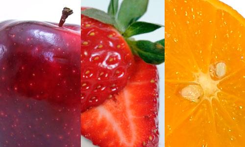 frutas-inverno-maca-morango-laranja